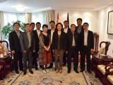纽伦堡华商会理事会拜访中国驻慕尼黑总领馆