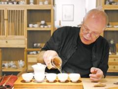 德国老人的中国茶道馆:将中国茶文化传播出去