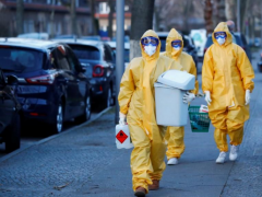 德国一难民营10天内近60人感染 超七成为变种病毒病例