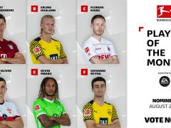 莱万哈兰德领衔!八月德甲最佳球员评选开始!